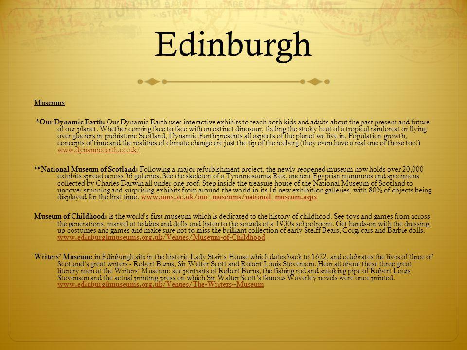 Edinburgh Museums.