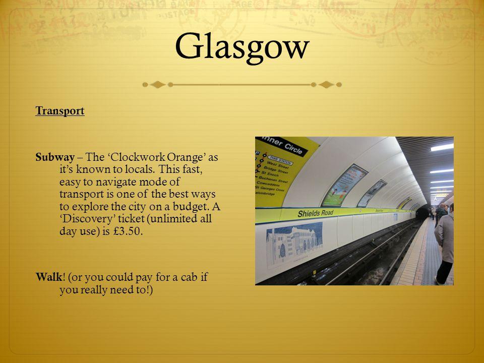 Glasgow Transport.