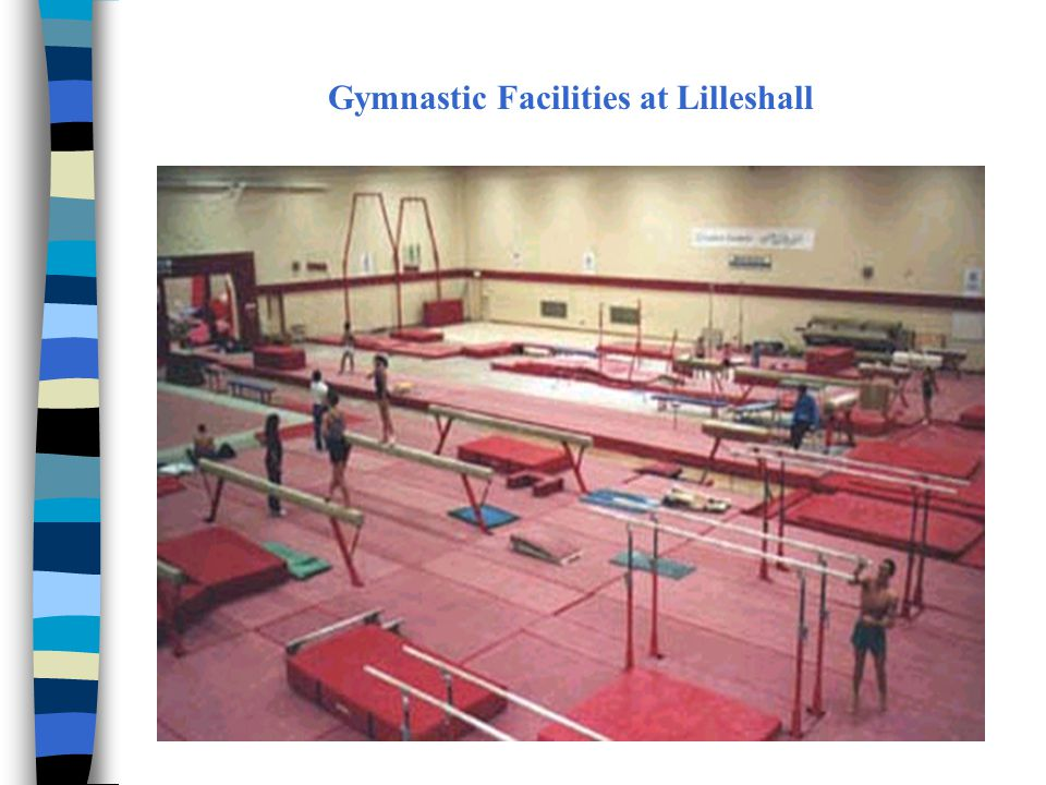 Gymnastic Facilities at Lilleshall