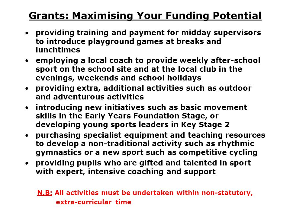 Grants: Maximising Your Funding Potential