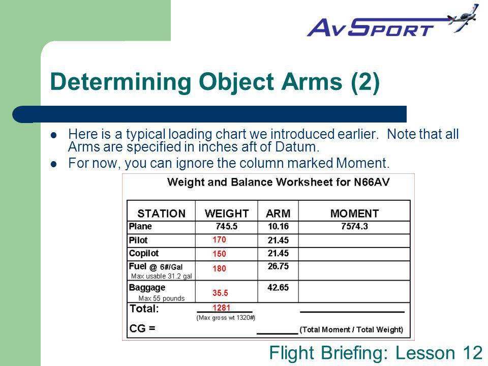 Determining Object Arms (2)