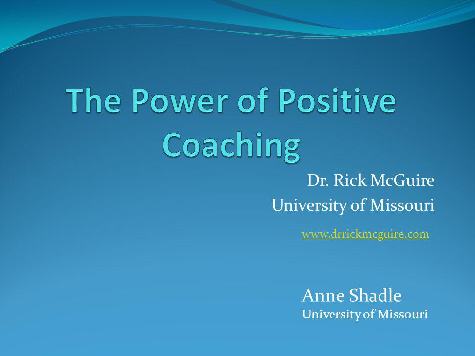 The Power of Positive Coaching