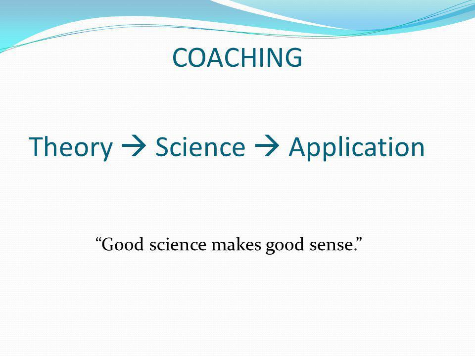 Theory  Science  Application
