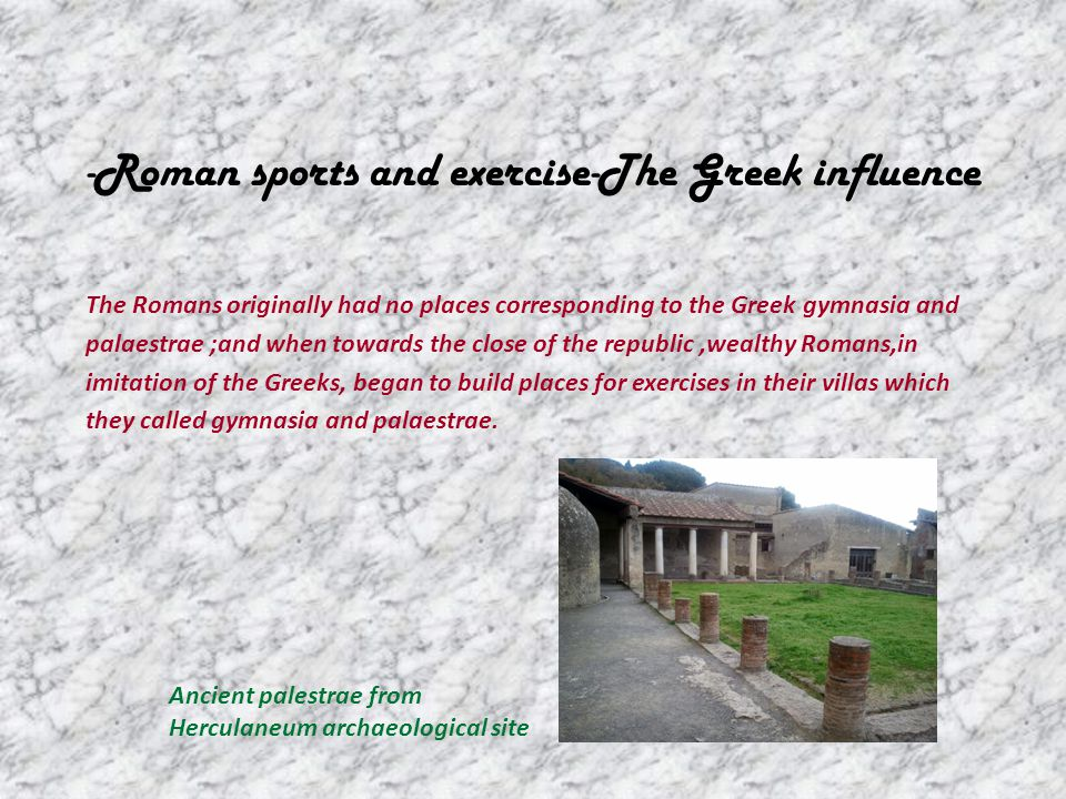 roman sports essay Difference between ancient olymoics and modern olympics essay difference between ancient olymoics and modern olympics another reason would be the sports as.