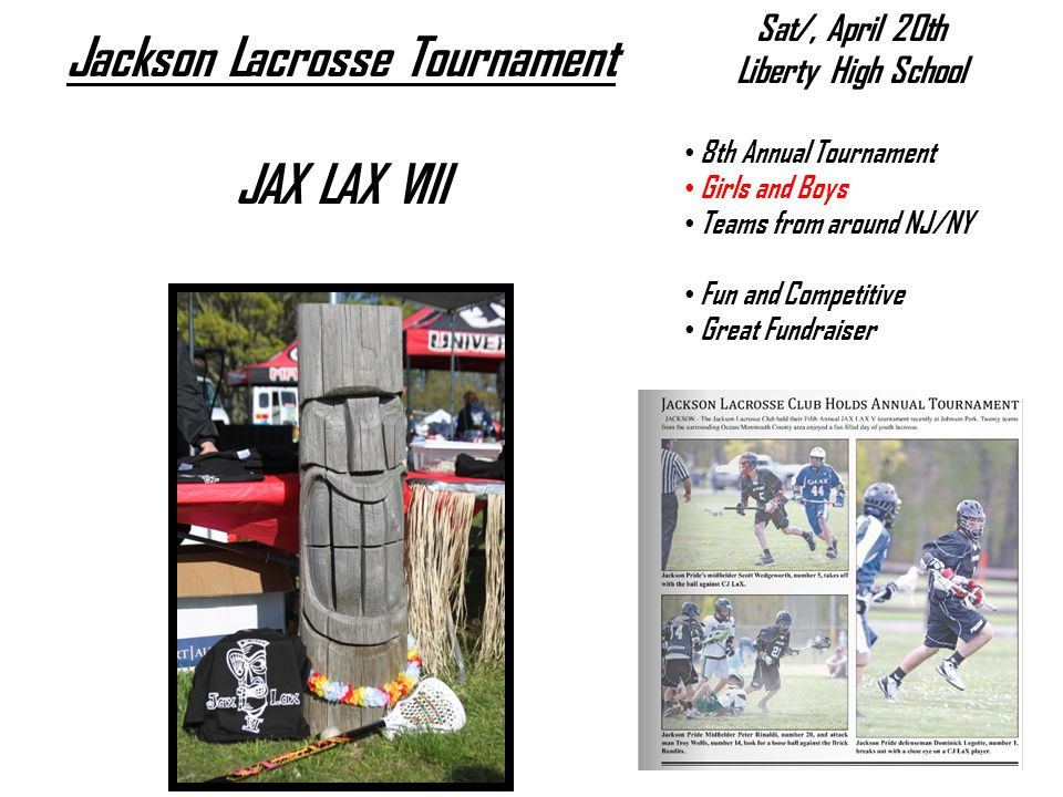 Jackson Lacrosse Tournament
