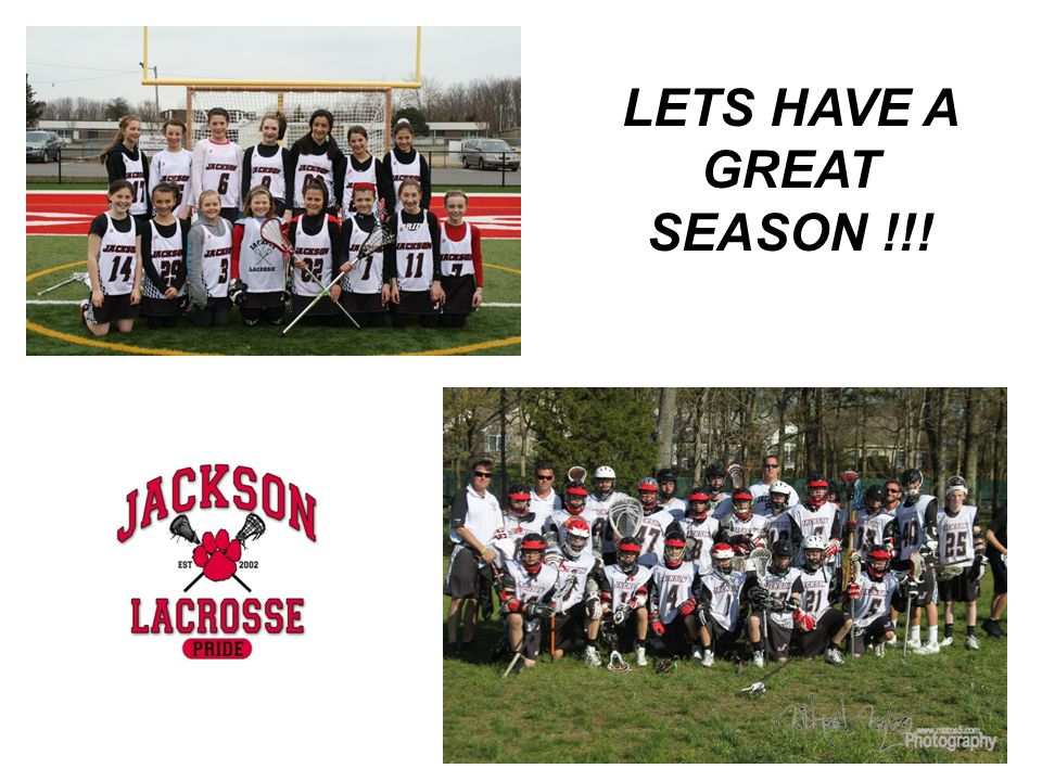 LETS HAVE A GREAT SEASON !!!