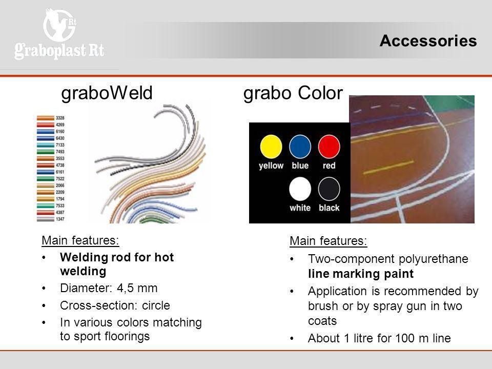 graboWeld grabo Color Accessories Main features: