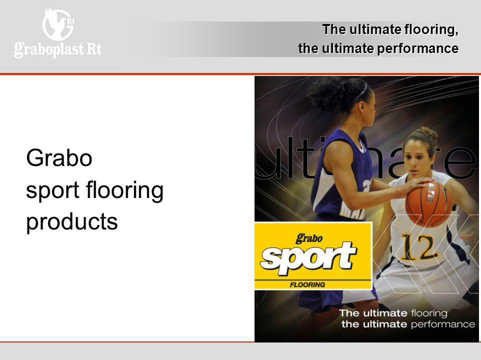 Grabo sport flooring products The ultimate flooring,