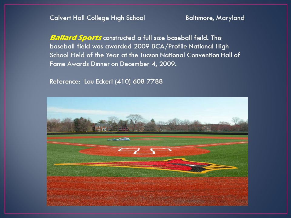 Calvert Hall College High School Baltimore, Maryland