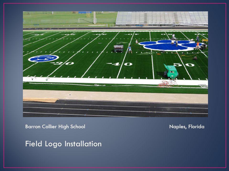 Field Logo Installation