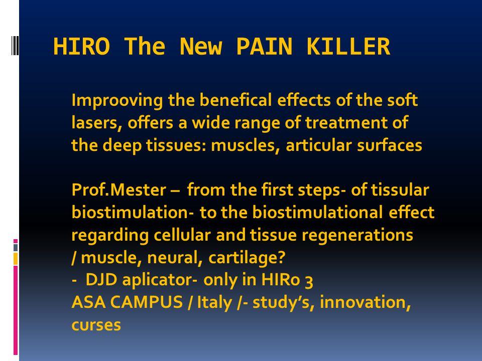 HIRO The New PAIN KILLER
