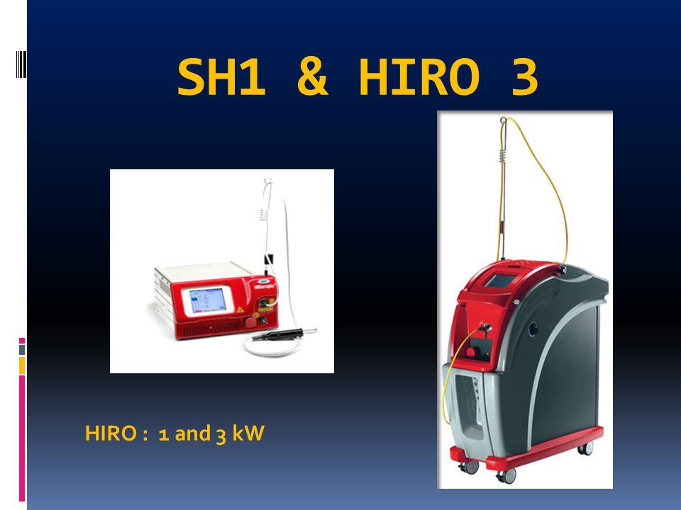 SH1 & HIRO 3 HIRO : 1 and 3 kW