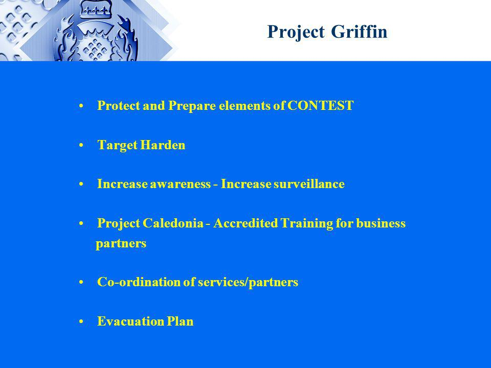 Project Griffin Protect and Prepare elements of CONTEST Target Harden