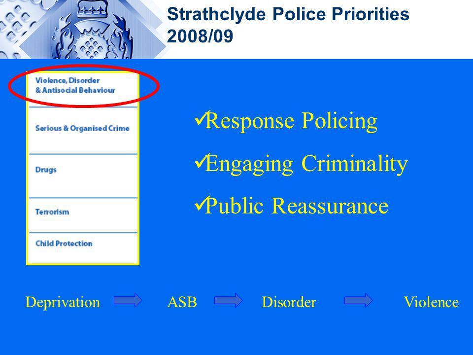 Response Policing Engaging Criminality Public Reassurance