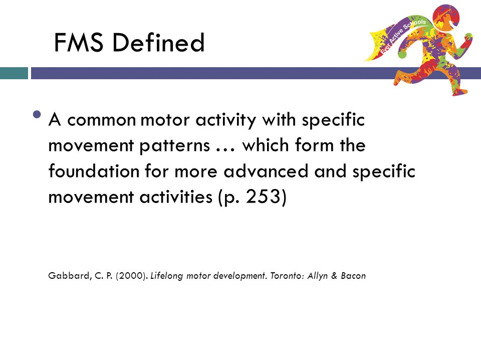 FMS Defined