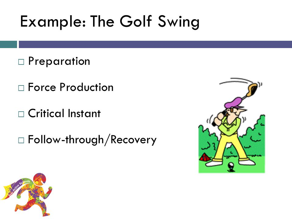 Example: The Golf Swing