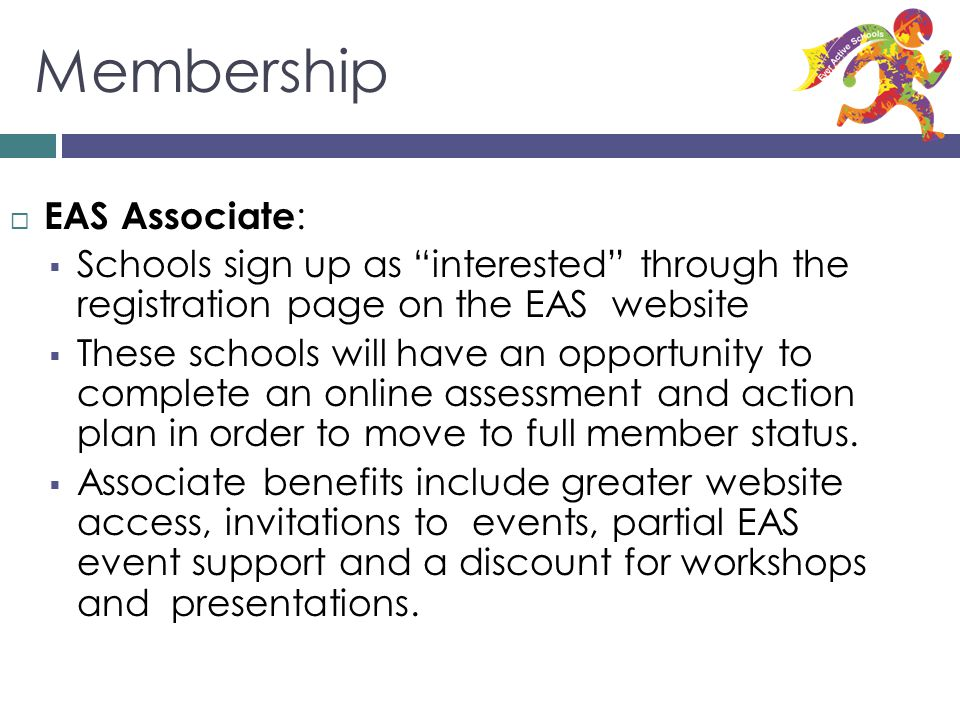 Membership EAS Associate: