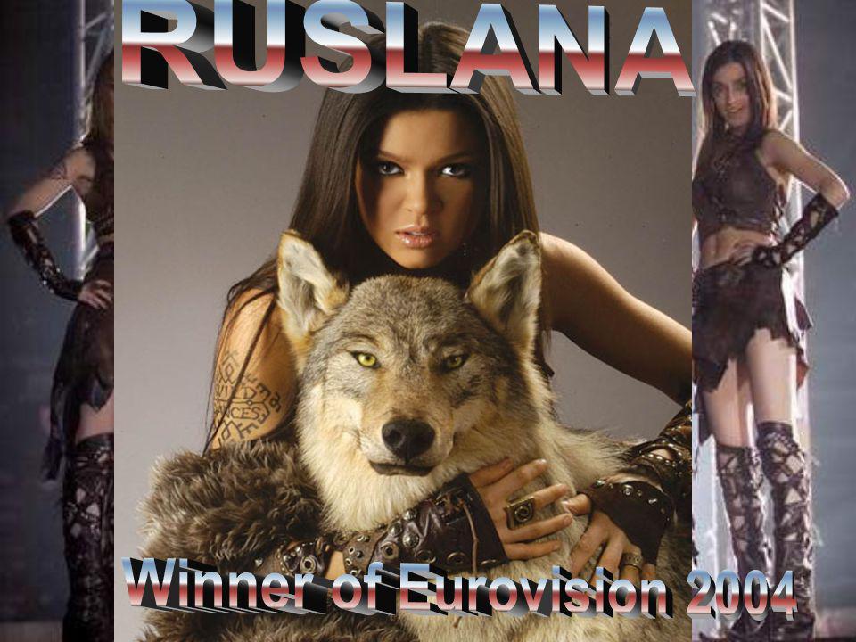 RUSLANA Winner of Eurovision 2004