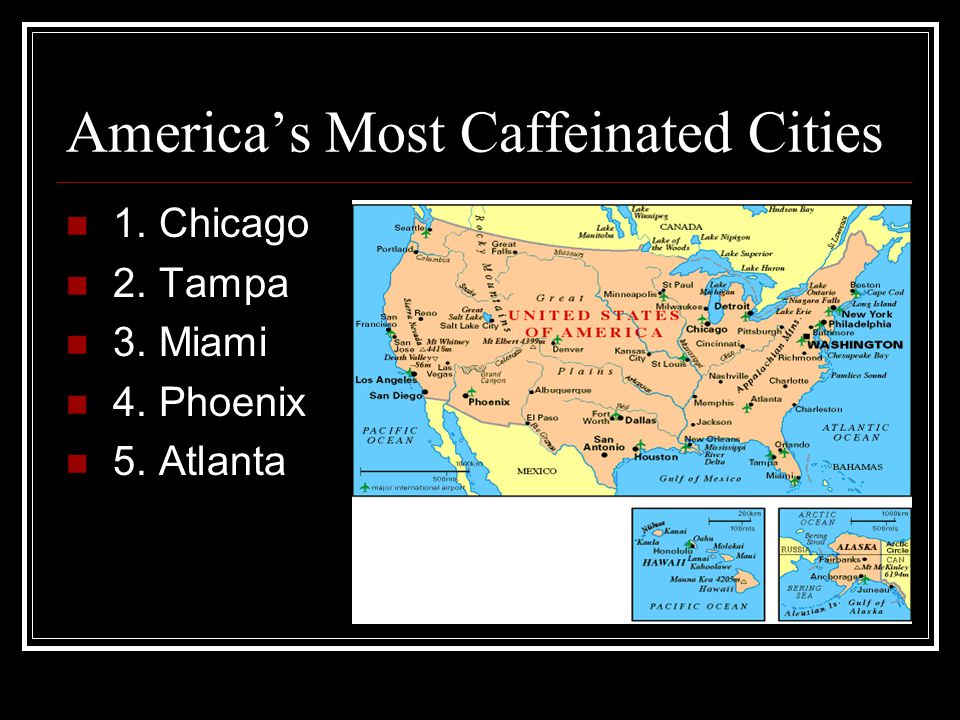 America's Most Caffeinated Cities
