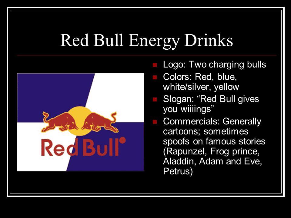 Red Bull Energy Drinks Logo: Two charging bulls