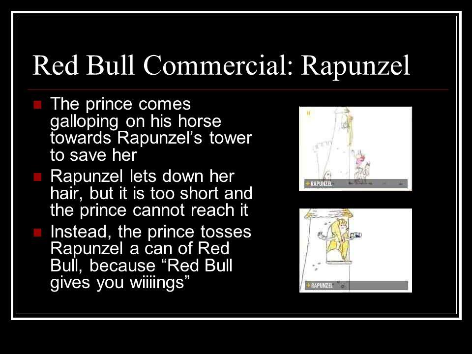 Red Bull Commercial: Rapunzel