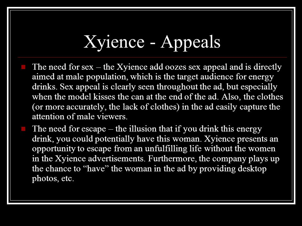 Xyience - Appeals