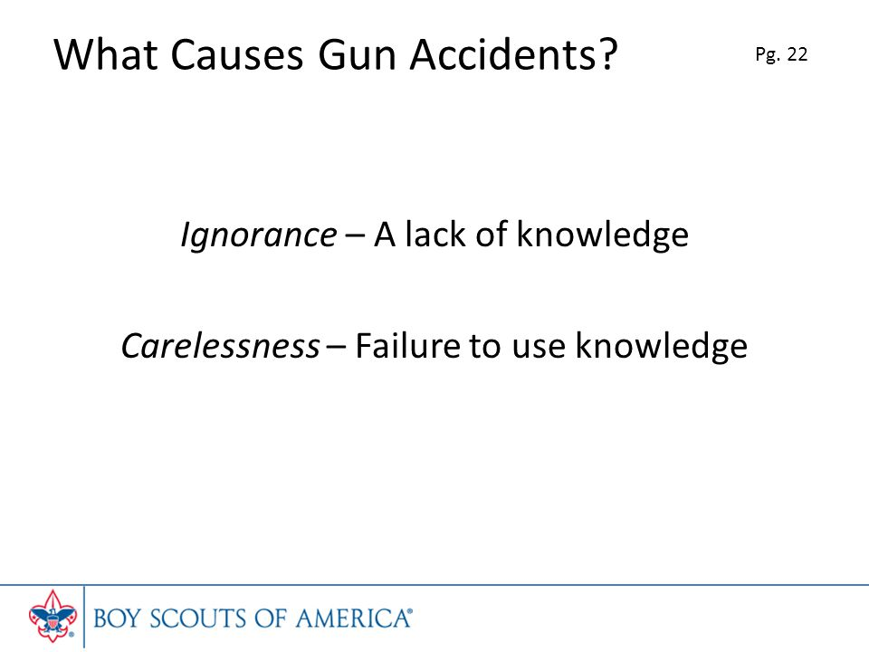 What Causes Gun Accidents