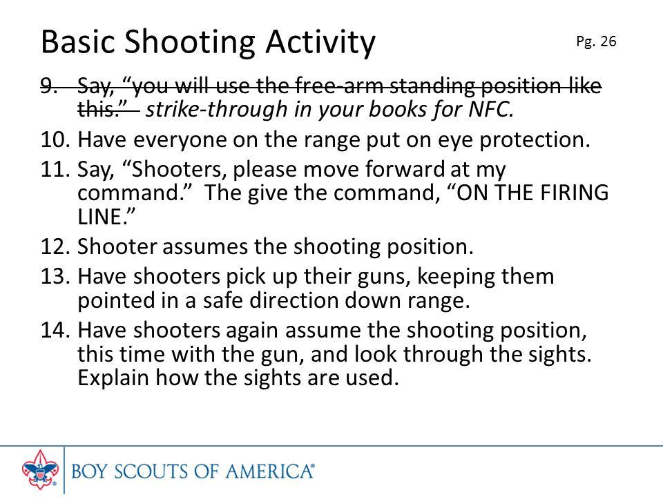 Basic Shooting Activity