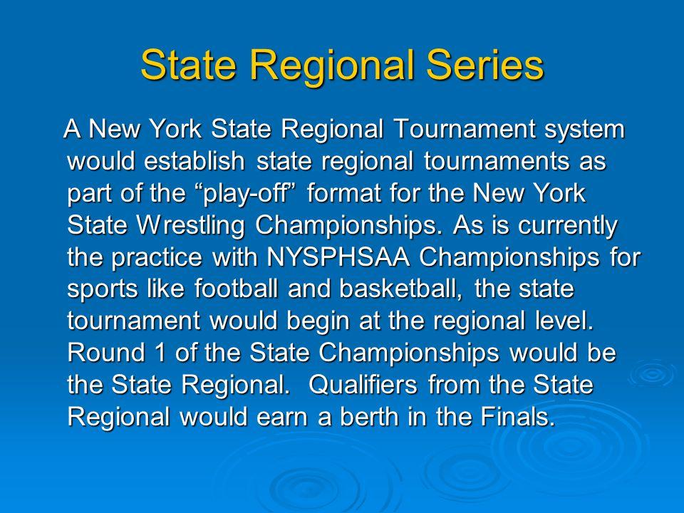 State Regional Series