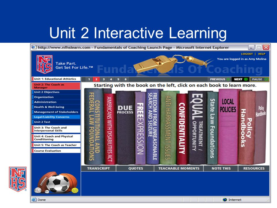 Unit 2 Interactive Learning