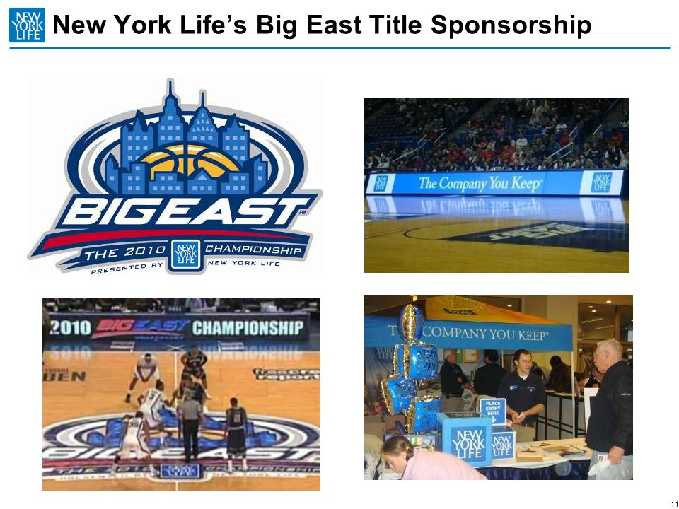 New York Life's Big East Title Sponsorship