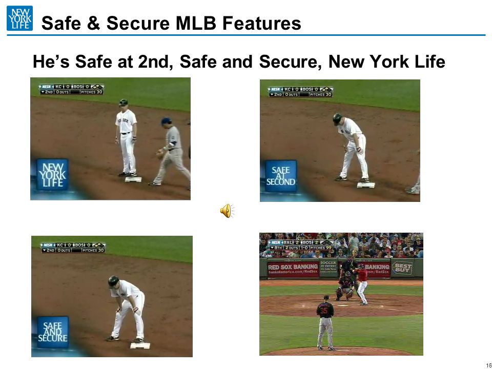 Safe & Secure MLB Features