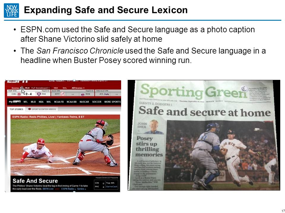Expanding Safe and Secure Lexicon