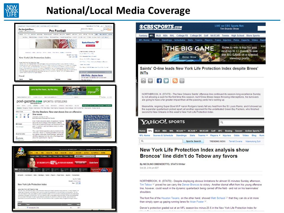 National/Local Media Coverage