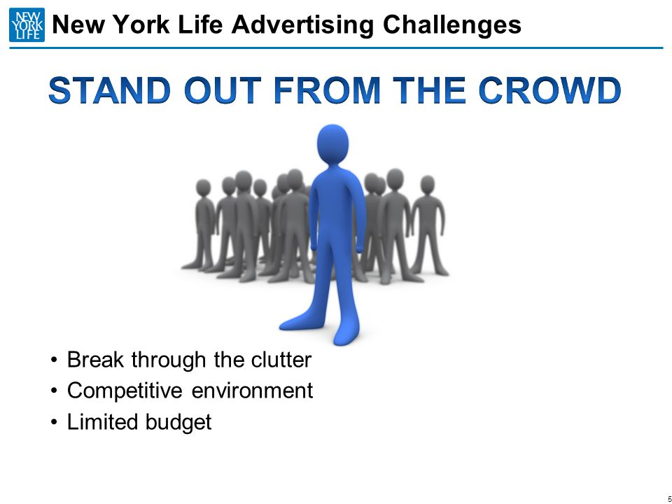 New York Life Advertising Challenges