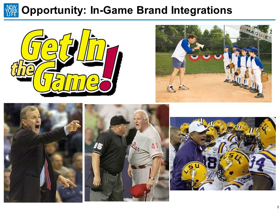 Opportunity: In-Game Brand Integrations