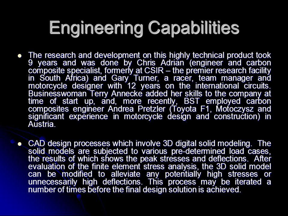 Engineering Capabilities
