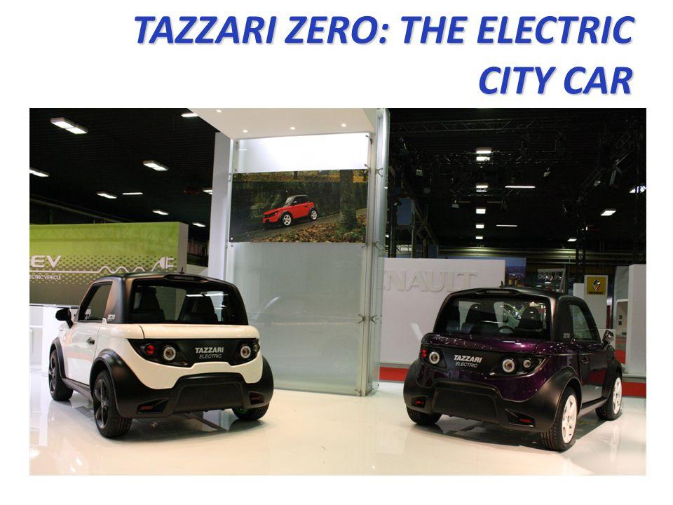 TAZZARI ZERO: THE ELECTRIC CITY CAR