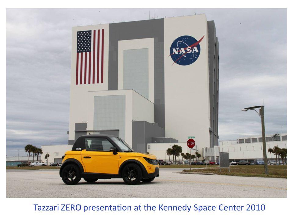 Tazzari ZERO presentation at the Kennedy Space Center 2010