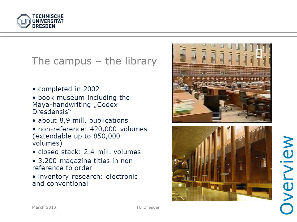The campus – the library