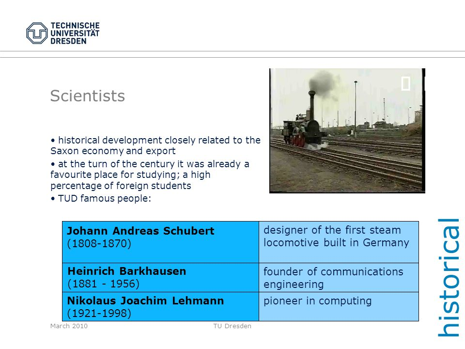 historical ¸ ¸ Scientists Johann Andreas Schubert