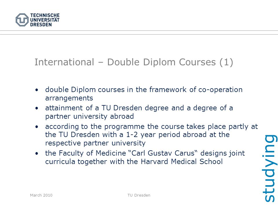 International – Double Diplom Courses (1)