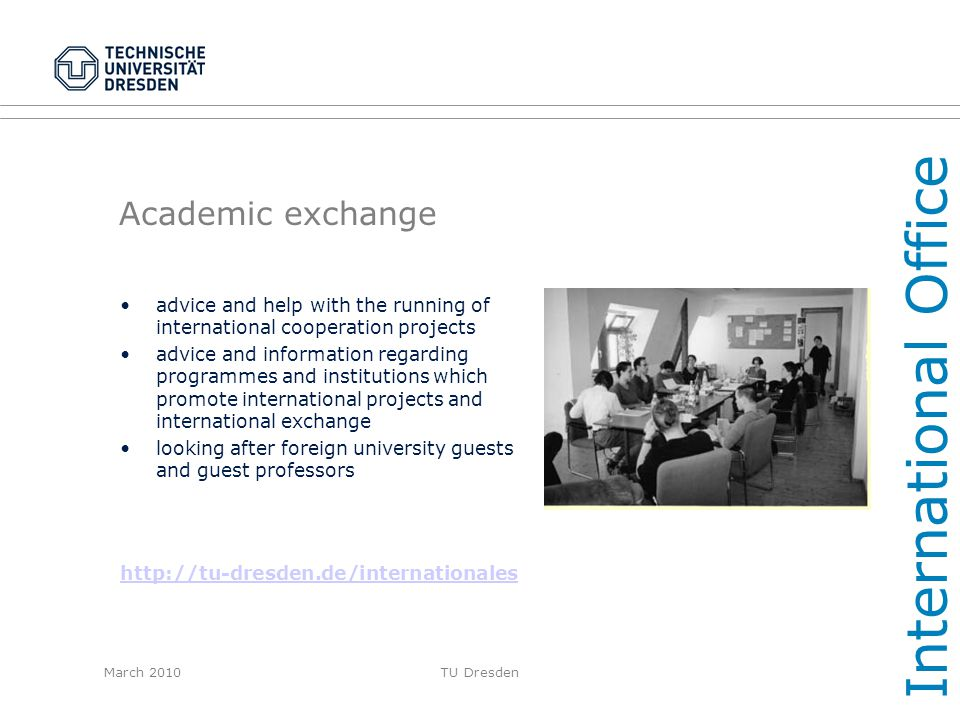 International Office Academic exchange
