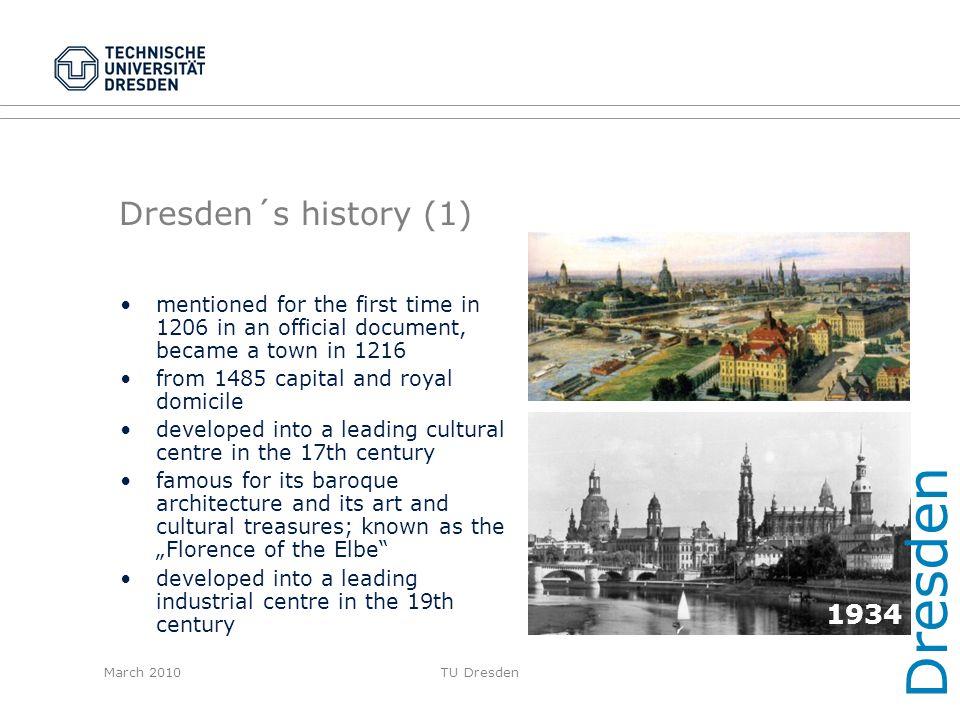 Dresden Dresden´s history (1) 1934