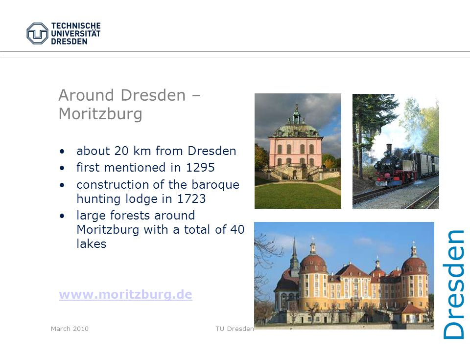 Around Dresden – Moritzburg