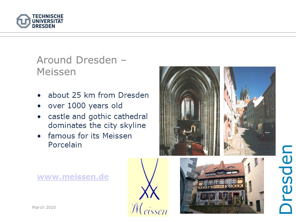 Around Dresden – Meissen