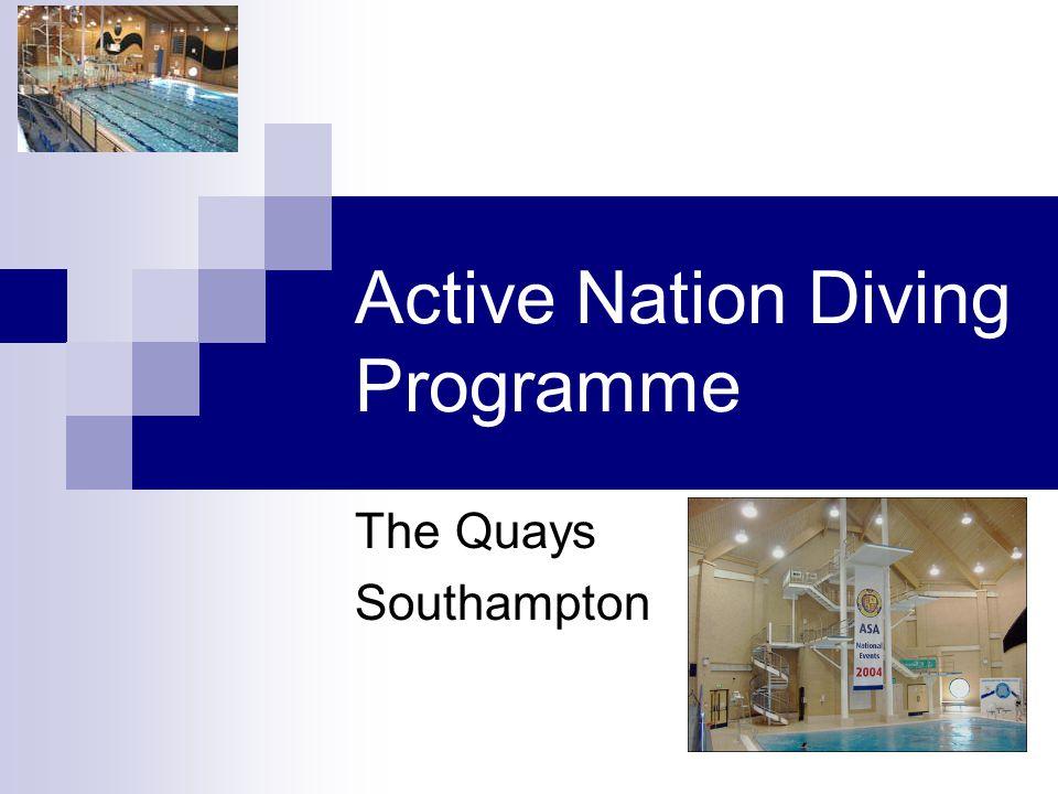 Active Nation Diving Programme