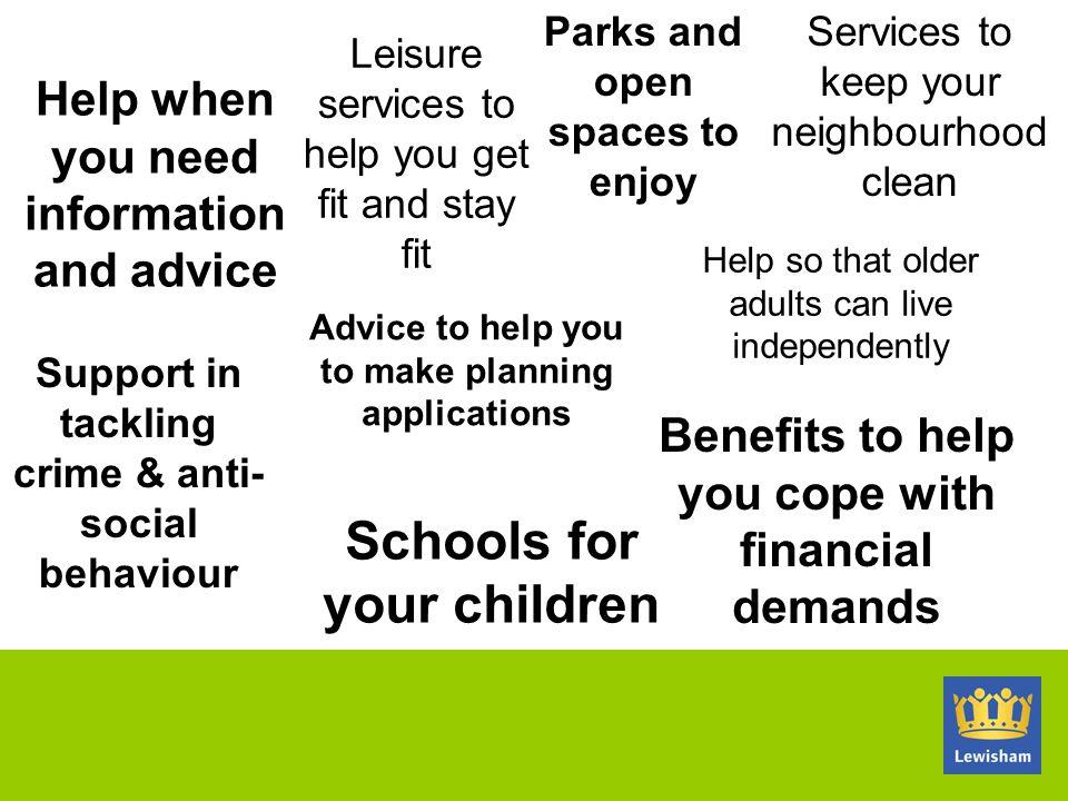 Schools for your children