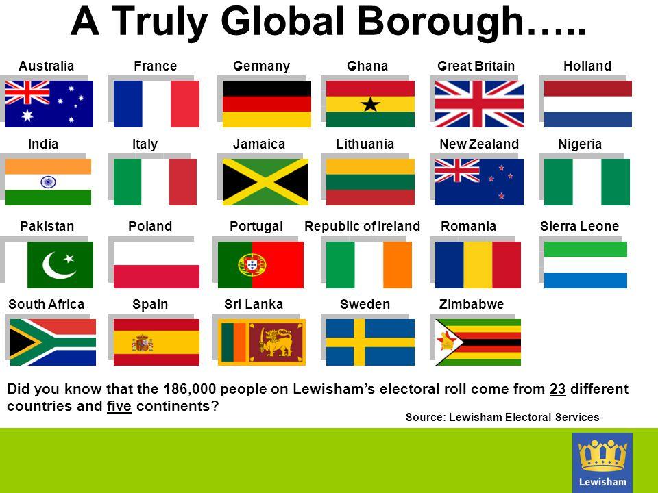 A Truly Global Borough…..
