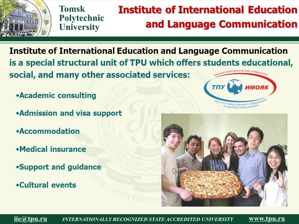 Institute of International Education and Language Communication